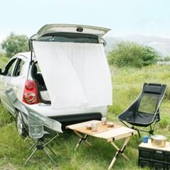 일일일상 비침없는 울쉬폰 차박 캠핑 가리개커튼 1장 140x110_Z88