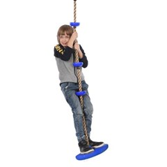 어린이 아동 실내 야외 외줄 그네 매달리기 로프 밧줄 J