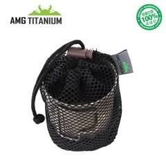 에이엠지티타늄 컵케이스 캠핑컵 티탄 캠핑용품 백패킹 등산용품 AMG