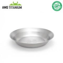 에이엠지티타늄 NEW 신형 접시 캠핑접시 티탄 캠핑용품 AMG TITANIUM