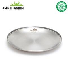 에이엠지티타늄 NEW 신형 플레이트 접시 티탄 캠핑접시 캠핑용품 AMG