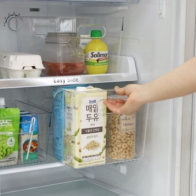 매일살림 투명 냉장고 정리함 깊은형 3size 택1 / 주방 정리트레이