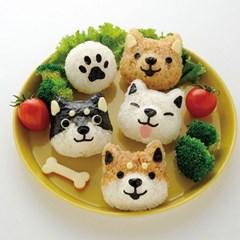 강아지 IM시바견 주먹밥틀 만들기 세트