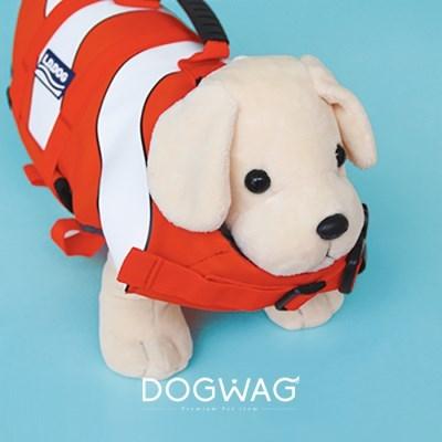 도그웨그 강아지 구명조끼 애견 수영 튜브 중형견 수영복 물놀이