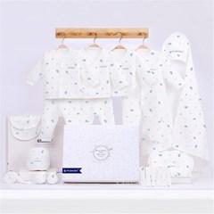 순면 아기옷 출산 선물세트 신생아 우주복 배냇저고리 J