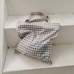큐피트 에코백 Cupid Eco Bag (Check Grey)