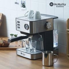 맥널티(Mcnulty) 홈카페 반자동 에스프레소 커피머신 MCM6861S