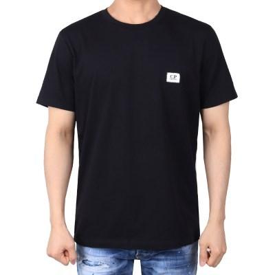 21FW 시피컴퍼니 사각로고 티셔츠 (블랙) 11CMTS039A 005100W 999