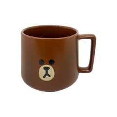 라인프렌즈 브라운 투페이스 키요 카페 머그컵