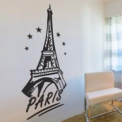 Paris star 대형 에펠탑 인테리어 스티커