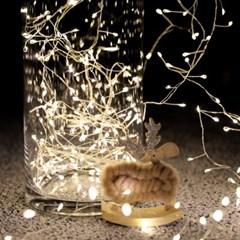 크리스마스 트리전구 LED 쥬얼리 와이어 200구 코드형