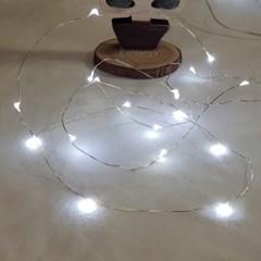 인테리어 조명 LED 와이어 전구 30구 건전지형
