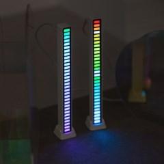 레인보우 LED 스틱바
