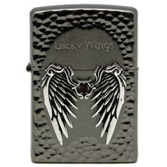 ZIPPO 라이터 250-18 LUCKY WINGS BB(R)
