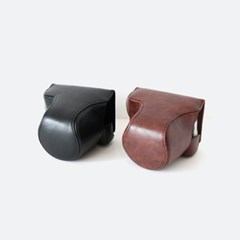 후지 Fuji XA5 XA7 카메라 케이스 파우치 가방 넥스트랩