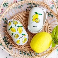 [M-PEAK] 레몬 드로잉 갤럭시 버즈시리즈 케이스(무광)