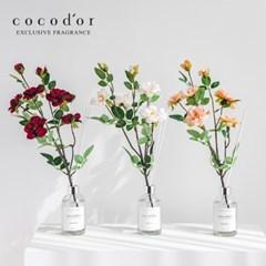 코코도르 디퓨저 화이트라벨 200ml X 4개 + 월계꽃  조화 4P