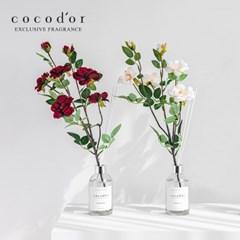 코코도르 디퓨저 화이트라벨 200ml X 2개 + 월계꽃 조화 2P