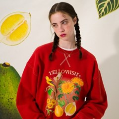 Yellowish Sweatshirt(BRICK)