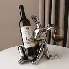 롬앤글라스 오브제 와인렉 와인잔거치대 토끼디자인