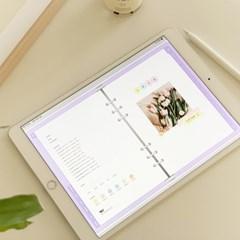 [만년형] 마카롱 6공 디지털 다이어리 아이패드 속지
