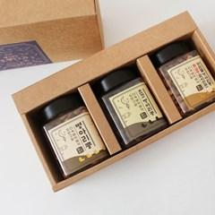 풍심당 두번 구운 바삭한 병아리콩 (120g x 3종) 선물세트