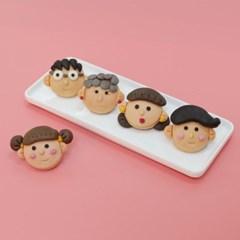 가족 송편 DIY 키트 쌀이랑놀자 베이직
