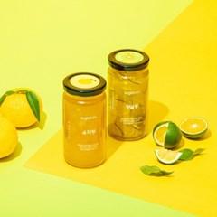 슈가로로 리얼프룻-티, 과일청 2종 (유자청+청귤청)