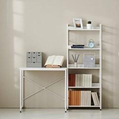 [모던하우스] ON 위켄 베이직 800책상,1500책장세트 화이트