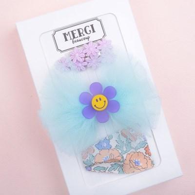 메르시밴드 베리굿 하프 선물세트 3P (블루)