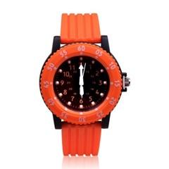 [키즈스퀘어]아날로그 시계 S57-189(Orange)