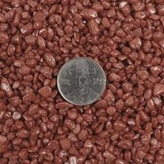 칼라스톤 브라운 3-5mm [1kg] -칼라모래 어항세팅