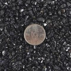 칼라스톤 블랙 3-5mm [1kg] -칼라모래 어항세팅