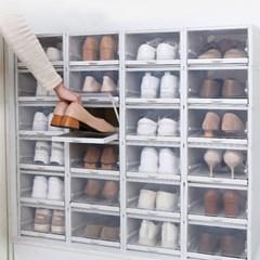 슬라이딩 신발장 쇼케이스 3P세트 B