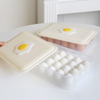 에그쏙 후라이 계란 트레이 보관용기(24구)