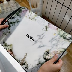 [Holin] 국산 프리미엄 TPU 양면 도마 (대) 화이트믹스