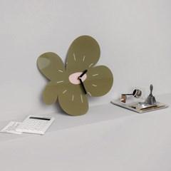 무타공 인테리어 아크릴 디자인 벽걸이시계