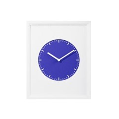 [PAULVICE 폴바이스] 프레임 벽시계 컬렉션 - 블루