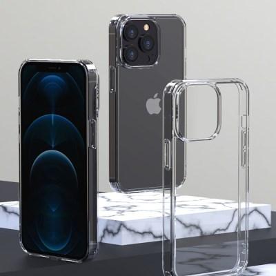 아이폰13 변색NO 초경량 투명 강화유리 케이스