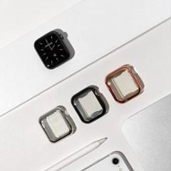 애플워치 유광 젤리 무지 커버 케이스 3color