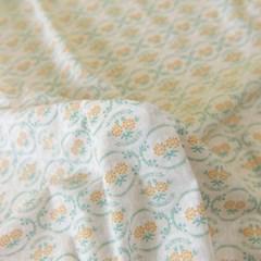 [Fabric] 코티지 플로럴 오렌지 코튼