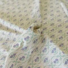 [Fabric] 코티지 플로럴 퍼플 코튼
