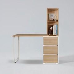 레비 일자형 책상 세트 1200 (착불)