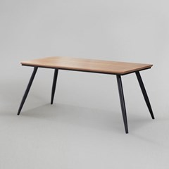 쿠니 무늬목 식탁 테이블 1400 (착불)