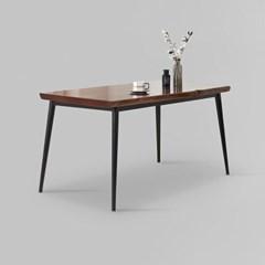 가벤 원목 철제 식탁 테이블 1400 (착불)