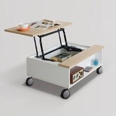 니쉬 리프트업 이동식 소파 테이블 800 (착불)