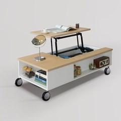 니쉬 리프트업 이동식 소파 테이블 1200 (착불)
