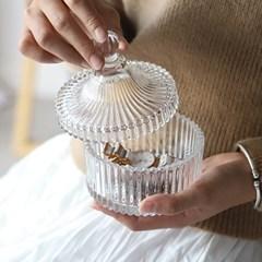 방울보석함 인테리어소품 홈데코 유리 장식품 소품 정리함 보관함