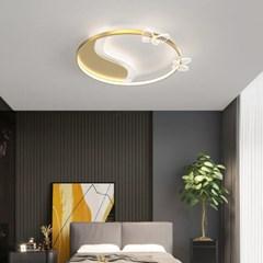 boaz 나비원형 방등(LED) 키즈 카페 홈 인테리어 조명