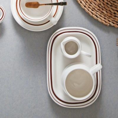 정품 시라쿠스 메이플 뉴욕 레트로식기 - 피클접시
